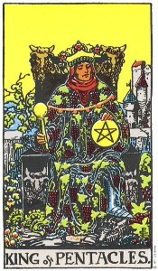 king-pentacles
