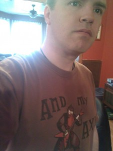 I might wear this shirt when Rock Band is on the agenda.